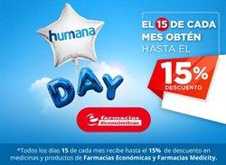 Ofertas de Salud y Farmacias en el catálogo de humana en La Troncal ( Más de un mes )