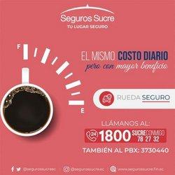 Ofertas de Bancos en el catálogo de Seguros sucre ( 20 días más)