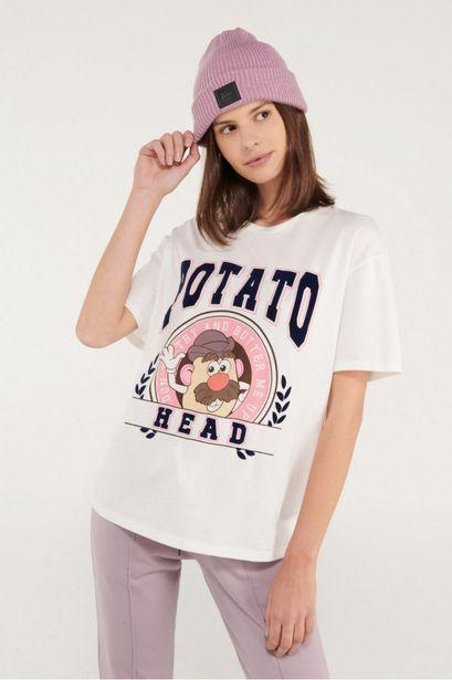 Oferta de Camiseta manga corta estampada Señor Cara de Papa. por 25900€