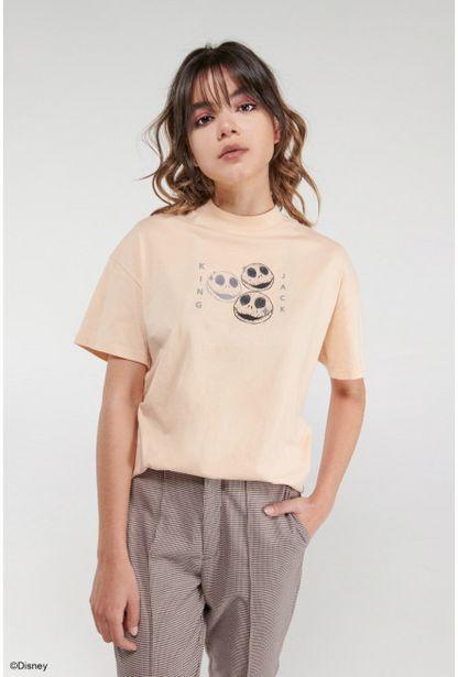 Oferta de Camiseta manga corta, estampado de El extraño mundo de Jack. por 25900€