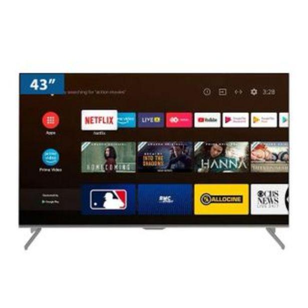 "Oferta de Televisor Led  43TISG3AUHD 43"" |  UHD por 570,64€"