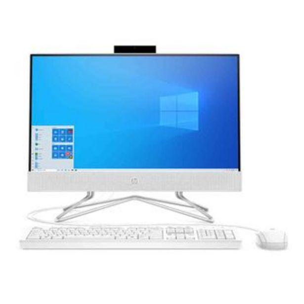 Oferta de HP - Computadora All In One HP 22-DD0010LA | Blanco por 603,68€