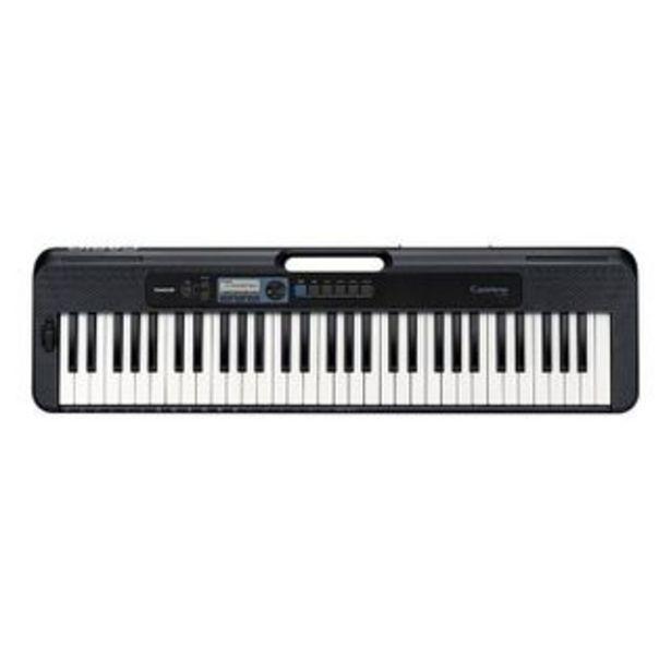 Oferta de CASIO - Teclado sintetizador CT-S300 | Negro por 353,17€