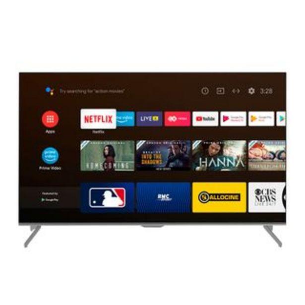 "Oferta de Indurama - Televisor Led 65TISG3AUHD 65"" | UHD 4K por 1070,1€"
