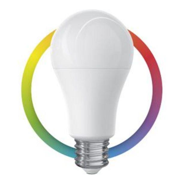 Oferta de Steren Foco LED Wi-Fi multicolor de 7W por 16,5€