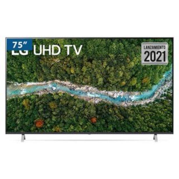 "Oferta de LG - Televisor Led UP7750PSB 75"" | UHD 4K por 1574,97€"