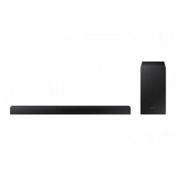 Oferta de Samsung - Barra de Sonido HW-T450/ZPo por 175€