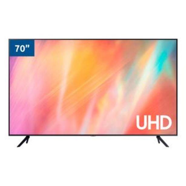 "Oferta de Samsung - Televisor Led UN70AU7000PXPA  70"" | UHD por 1344,97€"