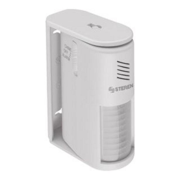 Oferta de Steren sensor de movimiento con alarma por 6€