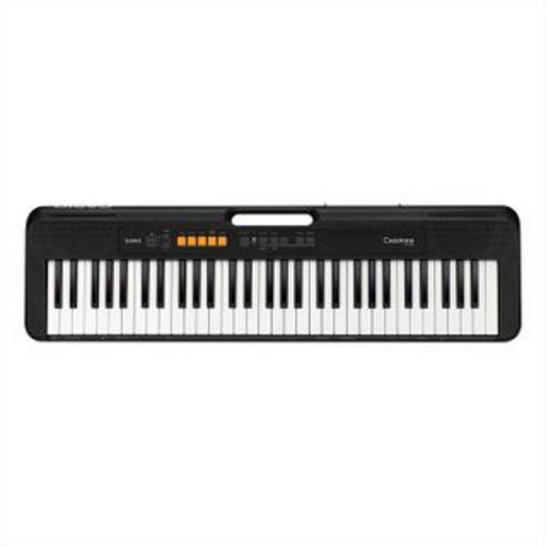 Oferta de CASIO - Teclado sintetizador CT-S100 | Negro por 236,54€