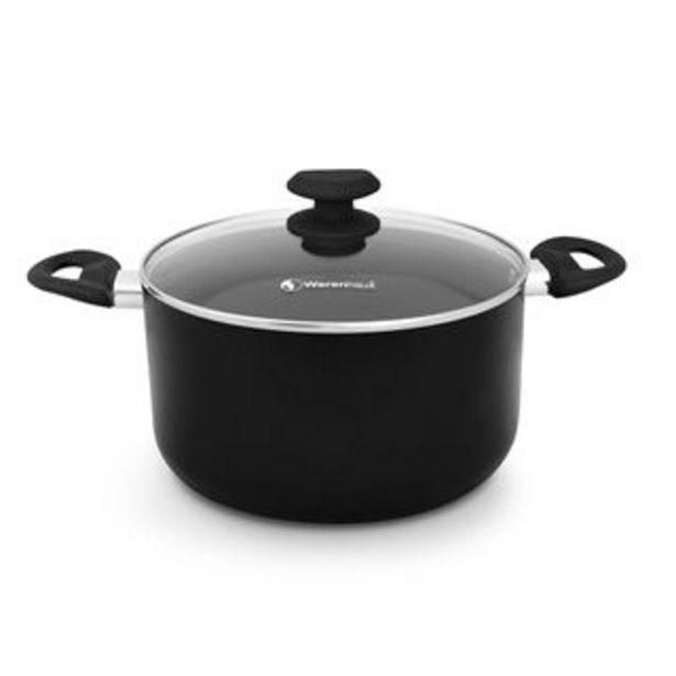 Oferta de Warenhaus - Olla Casia M33387 | 20 CM Negro Brillante por 16,44€