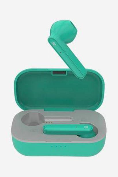 Oferta de Audífonos inalámbricos Klip Xtreme Litetouch KTE-005 Verde por 34,99€