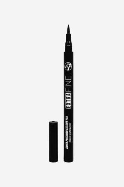 Oferta de Delineador de Ojos Extra Fine W7 Negro por 8€