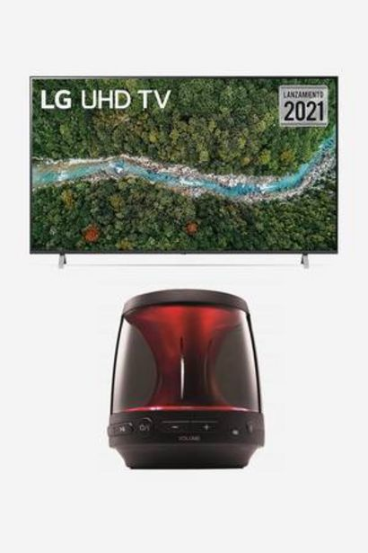 Oferta de Tv 4K LG de 65 Pulgadas + Parlante por 1,259€