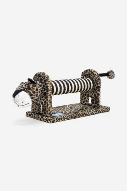 Oferta de Rascador para gatos Animal Planet Tigre por 39,98€