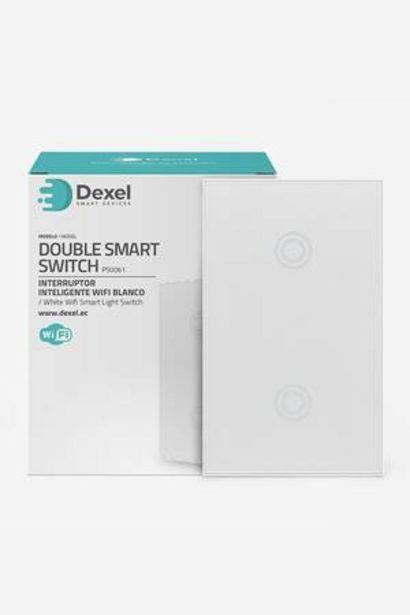 Oferta de Interruptor Smart Doble Dexel por 22,49€