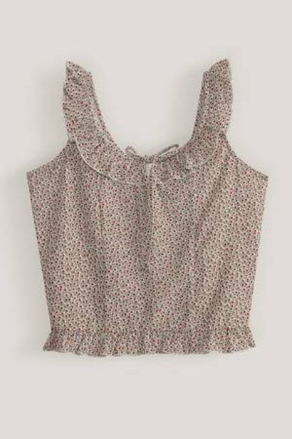 Oferta de Blusa con estampado floreado H&O por 12€