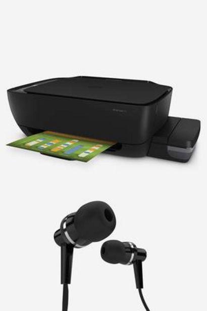 Oferta de Impresora HP Ink Tank 315 + Audífonos por 239€