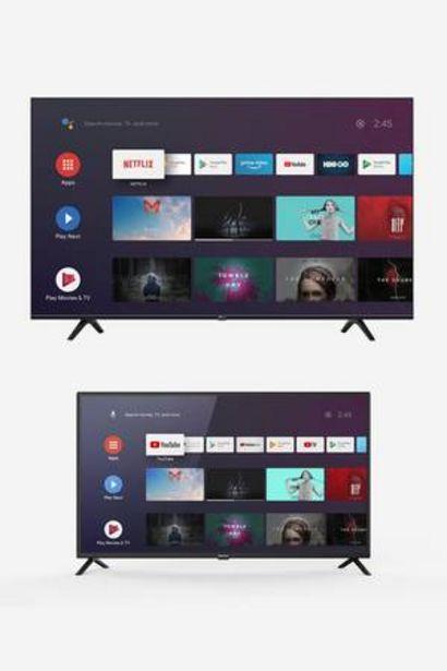 Oferta de Combo Android TV 4K Riviera de 58 pulgadas + Android TV Full HD de 42 pulgadas por 1,259€
