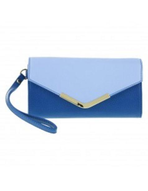 Oferta de Billetera Azul CB para mujer por 14,99€