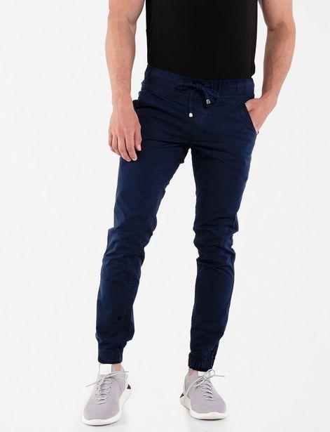 Oferta de Jogger casual azul marino por 35,99€