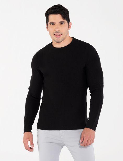 Oferta de Sweater juvenil negro por 29,9€