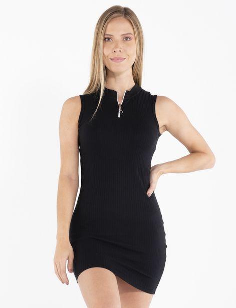 Oferta de Vestido sin mangas negro por 24,9€