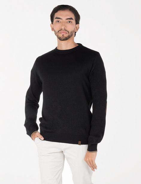 Oferta de Sweater básico negro por 19,9€