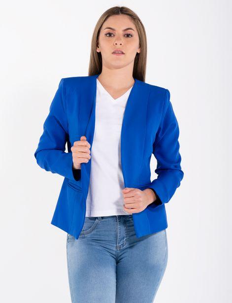 Oferta de Blazer clásico azul por 49,9€