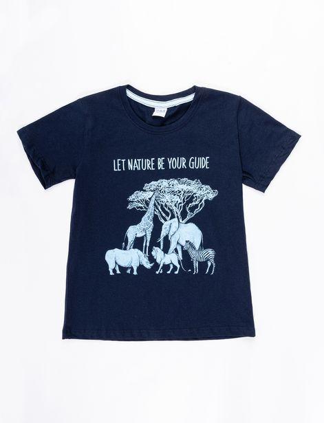 Oferta de Camiseta Nature azul marino por 7,99€