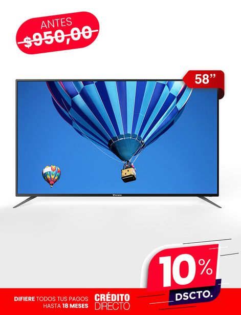 "Oferta de Tv Innova 58"" 4K por 855€"