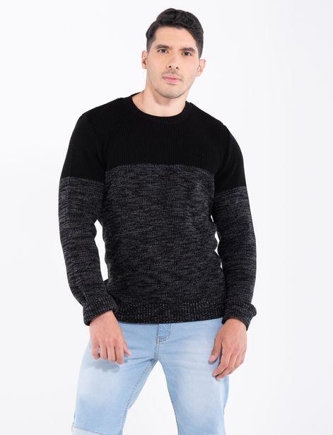 Oferta de Sweater bloquer negro por 29,9€