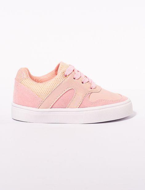 Oferta de Sneaker combinado suela blanca por 36,9€