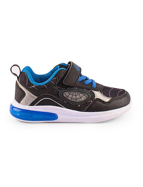 Oferta de Sneaker Spiderman negro por 44,9€