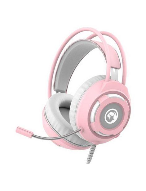 Oferta de Audífonos Marvo HG-8936 rosado por 29,9€