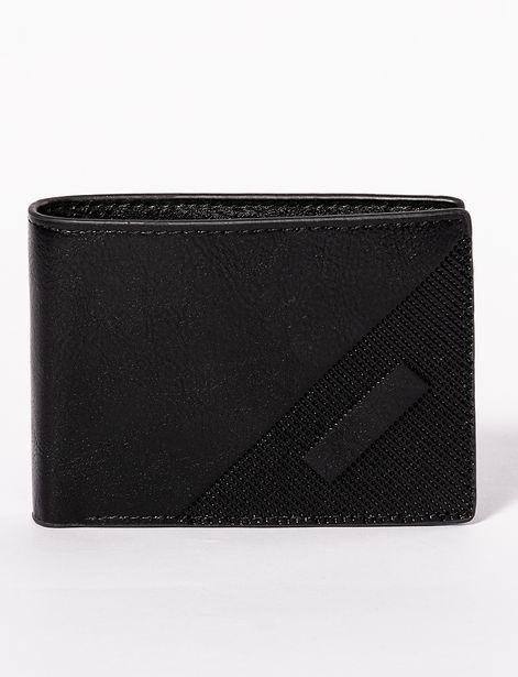 Oferta de Billetera llana negra por 6,9€