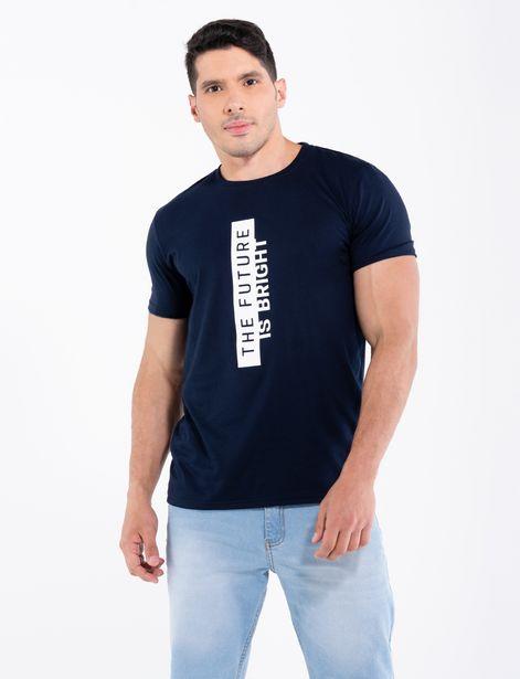 Oferta de Camiseta The future azul marino por 11,95€