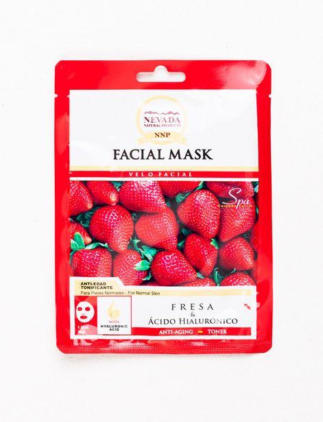 Oferta de Mascarilla Facial Nevada Fresa 30g por 1,99€
