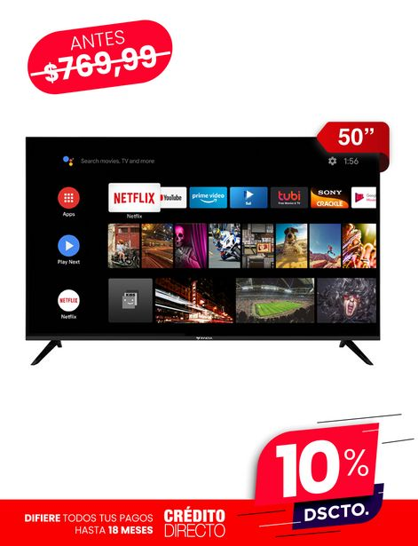 """Oferta de Innova Smart TV 50"""" por 692,99€"""