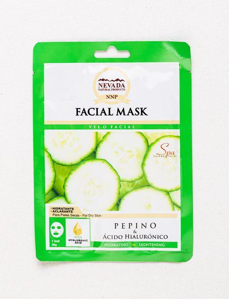 Oferta de Mascarilla Facial Nevada Pepino 30g por 1,99€