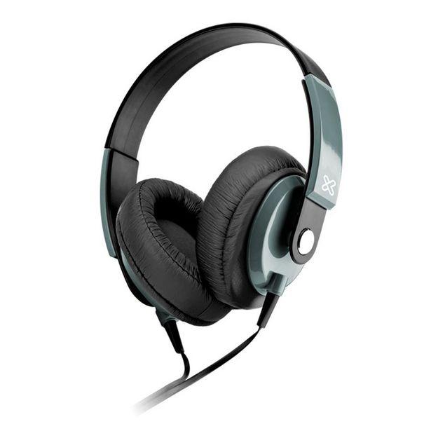 Oferta de AUDIFONO + MICROFONO KLIP XTREME 40mm ON EAR NEGRO Y GRIS 1 CONECTOR 3.5mm por 15,16€