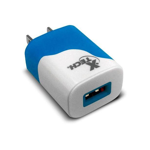 Oferta de CARGADOR DE PARED XTECH USB CARGA RAPIDA por 2,67€