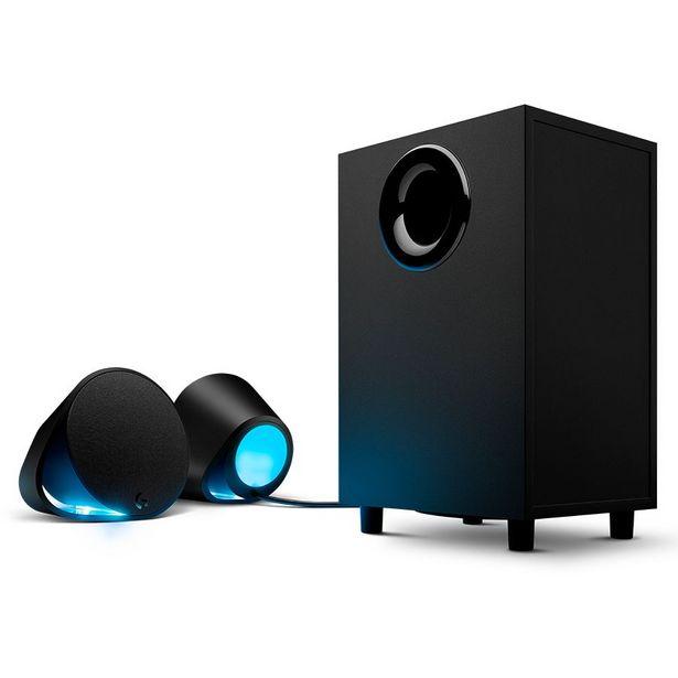 Oferta de PARLANTES LOGITECH G560/240W/BLUETOOTH/USB/ILUMINACION RGB por 243,74€