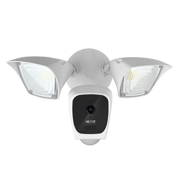 Oferta de CAMARA SMART WIFI NEXXT HD EXTERIOR CON 2 REFLECTORES 2500 LUMENES +SIRENA por 127,66€