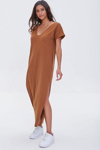 Oferta de Side-Slit Maxi Dress por 14€