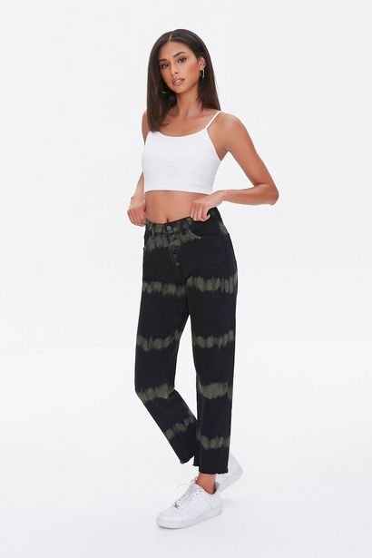 Oferta de Tie-Dye Straight Jeans por 17€