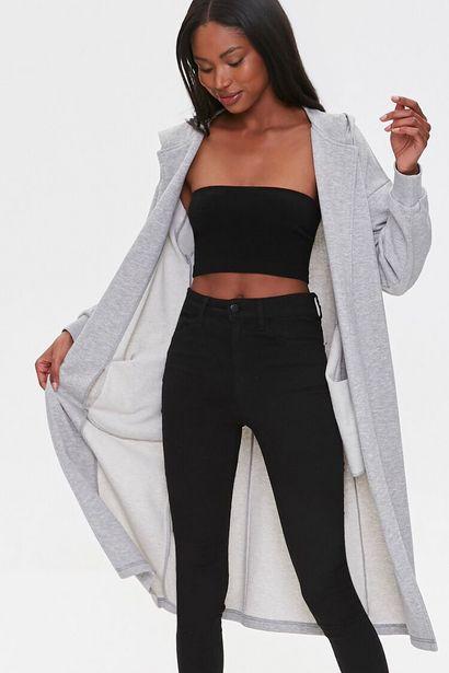 Oferta de Hooded Longline Cardigan Sweater por 17€