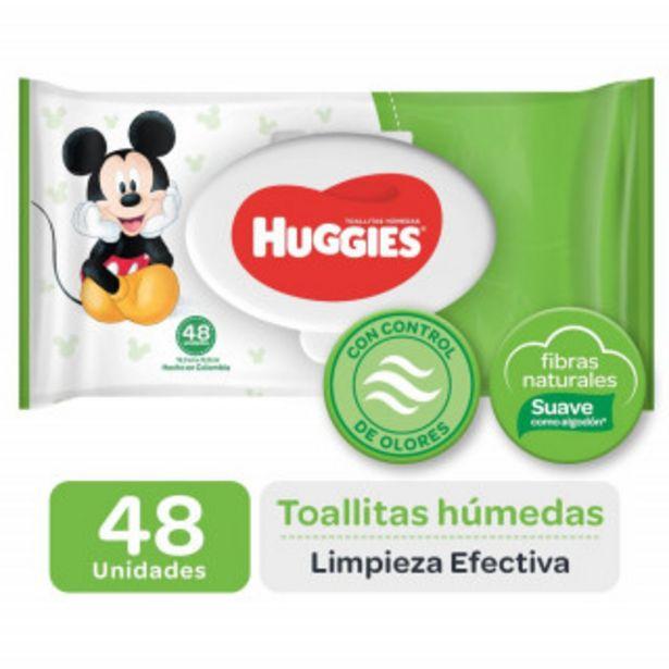 Oferta de Toallas huggies active fresh 12x48 por 2,28€