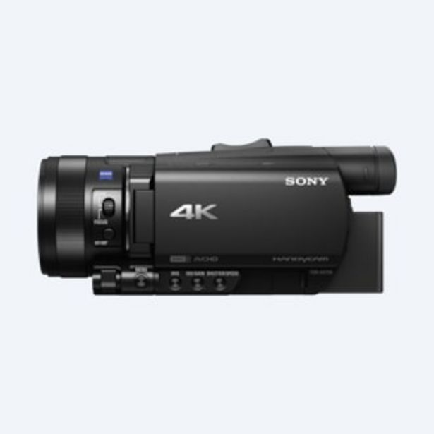 Oferta de Videocámara FDR-AX700 4K HDR por 2099€