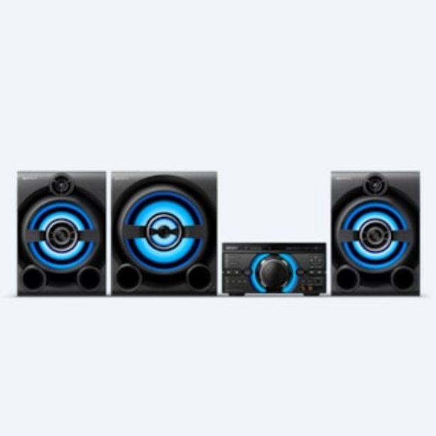 Oferta de Sistema de audio de alta potencia con DVD M80D por 687,99€